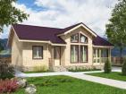 Одноэтажный жилой дом с террасой и верандой
